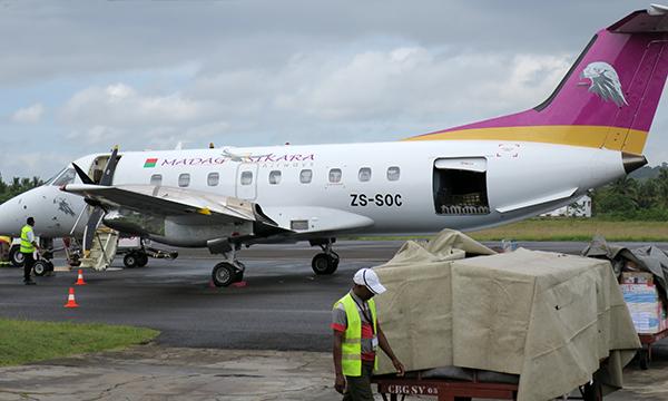 Air Madagascar, the carrier of LAVANY Bourbon Vanilla from Madagascar