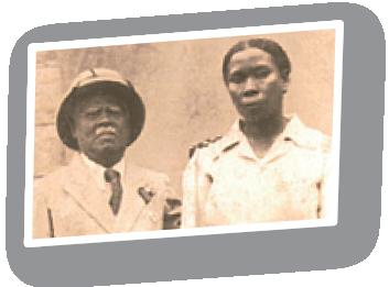 Egyptian Ranja and Edouard Rajera the founders of Plantation LAVANY in Madagascar
