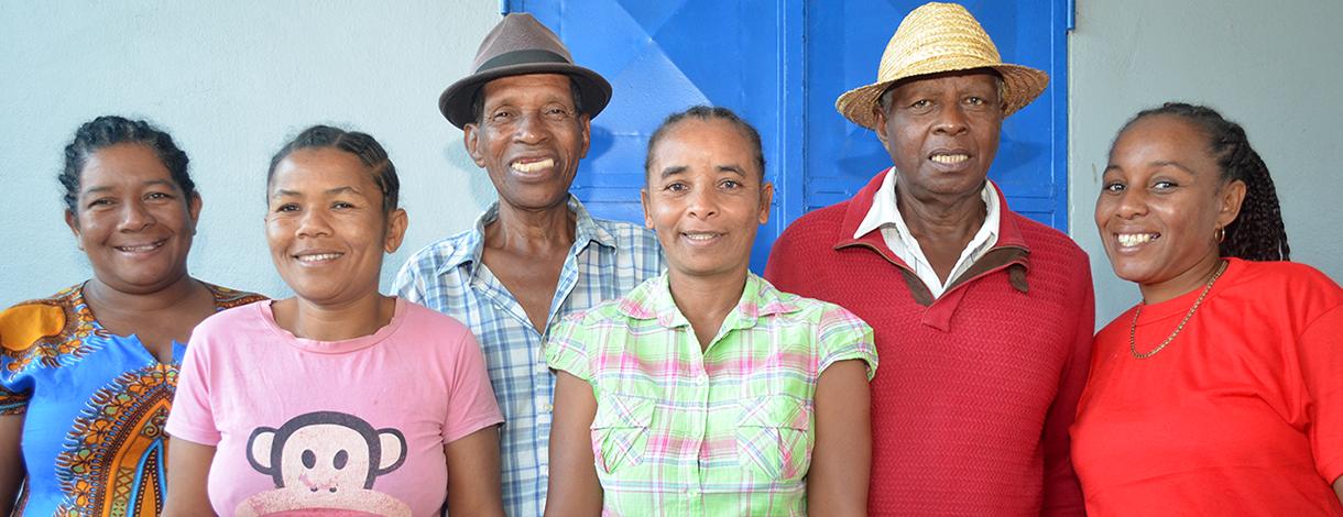 Staff of Ets. RANJA in Madagascar