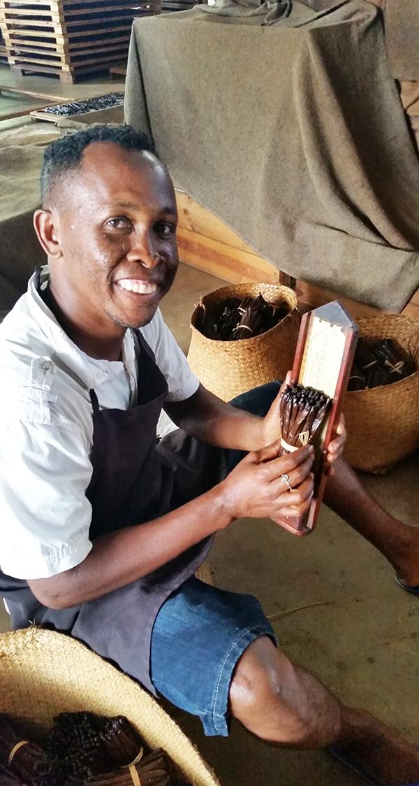 Calibration of LAVANY Bourbon Vanilla from Madagascar