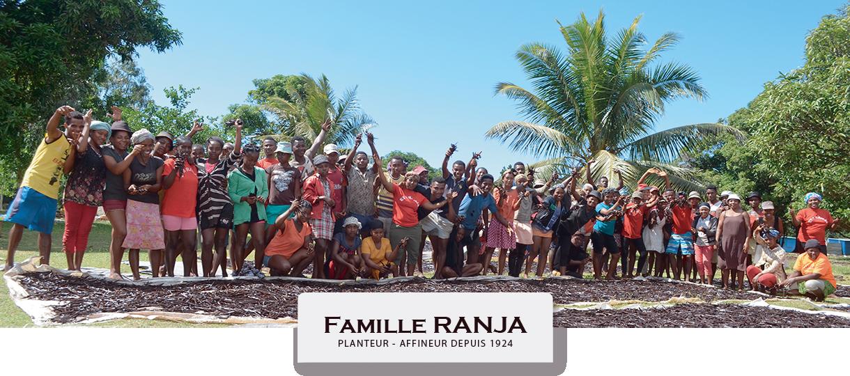 Family RANJA Planteur-Affineur de Vanille LAVANY Bourbonà Madagascar